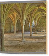 Battle Abbey Cloisters Wood Print