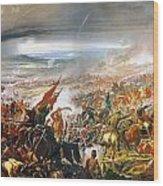 Battle Of Avay Wood Print
