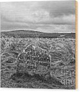 Battle Of Culloden Wood Print