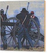 Battle Of Franklin - 1 Wood Print