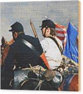 Battle Of Franklin - 2 Wood Print