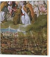 Battle Of Lepanto Wood Print