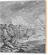 Battle Of Lexington, April 19th 1775, From Recueil Destampes By Nicholas Ponce, Engraved Wood Print