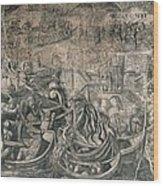 Battle Of M�hlberg Charles Vs Imperial Wood Print