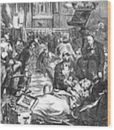 Battle Of Sedan, 1870 Wood Print
