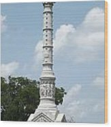 Battle Of Yorktown Monument Wood Print