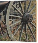 Battlefield Cannon  Wood Print