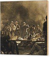 Battle's End D0426 Wood Print