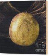 Batwinged Swede Wood Print