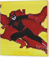 Batwoman Wood Print