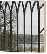 Baughman Center Window Wood Print