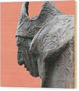 Bavarian Statue Wood Print