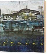 Bay Blues 006 Wood Print