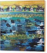 Bay Blues 182 Wood Print