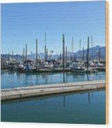 Bay In Seward Alaska Wood Print