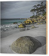 Bay Of Fires 2 Wood Print