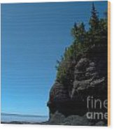 Bay Of Fundy Landmark Wood Print