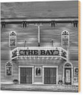 Bay Theatre In Sutton's Bay Wood Print by Twenty Two North Photography