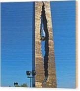 Teardrop  9 - 11 Memorial Bayonne N J Wood Print