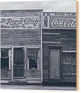 Bayou Beer Hall  1929 Wood Print