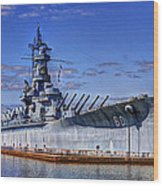 Bb-60 Uss Alabama Wood Print
