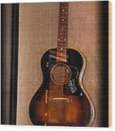 Bb King's Guitar Wood Print