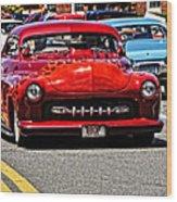 Bbop At Good Guys Car Show Wood Print