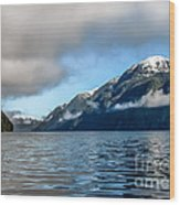 Bc Inside Passage Wood Print