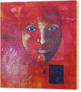 Be Golden Wood Print by Nancy Merkle