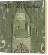 Be Our Guest Wood Print