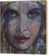 Be Young Be Foolish Be Happy Wood Print by Paul Lovering