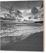 Beach 9 Wood Print