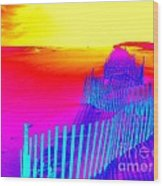 Beach Dream Wood Print