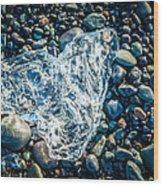 Beach Jewelry - Iceland Ice Photograph Wood Print