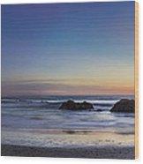 Beach Oasis Wood Print