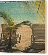 Beach Paradize Wood Print