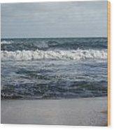 Beach Waves 2 Wood Print