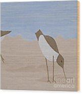 Middle - Beachcombers Trio Wood Print