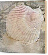 Beached Wood Print by Betty LaRue