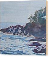 Beachhead Wood Print