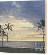 Beachwalk Series - No 18 Wood Print