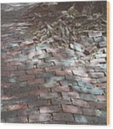 Beacon Hill Brick Wood Print