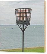 Beacon On Yarmouth Common Wood Print
