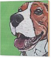 Beagle Timo Wood Print