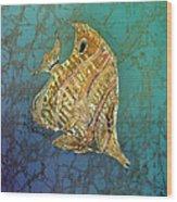 Beaked Butterflyfish Wood Print