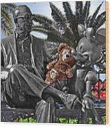 Bear And His Mentors Walt Disney World 06 Wood Print