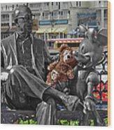 Bear And His Mentors Walt Disney World 07 Wood Print