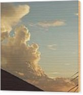 Bear Cloud Wood Print