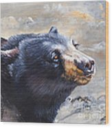 Four Winds Bear Wood Print