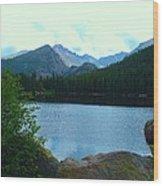 Bear Lake - Colorado Wood Print